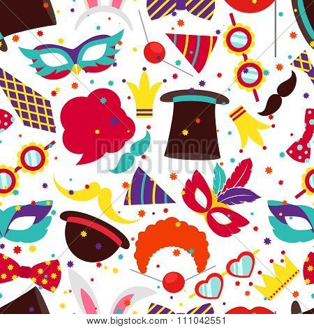Party background or carnival pattern