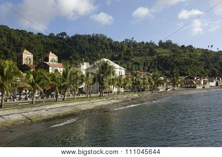 Picturesque City Of Saint Pierre In Martinique