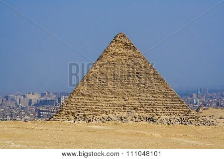 Egyptian pyramids, historical sites.