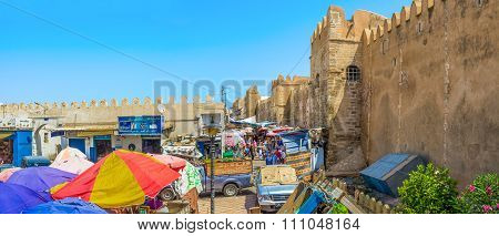 The Souq Along The Town Wall