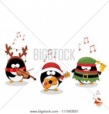 Penguins Christmas Music