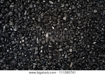 Black Granular Texture