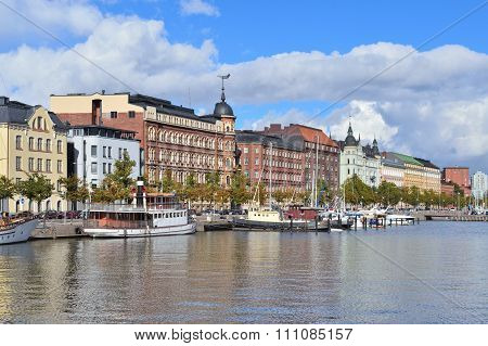 Helsinki. North Quay
