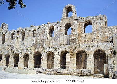 Herodes Atticus theater Athens Greece
