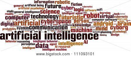 Artificial Inteligence Word Cloud