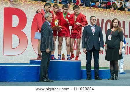 Winners Of The World Cup Memorial A. Kharlampiev In The Weight Category O
