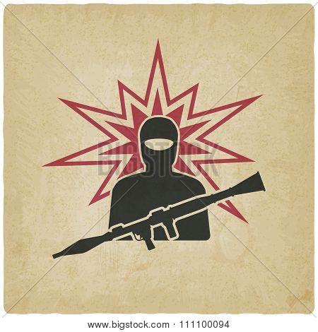 Terrorist With Grenade Launcher