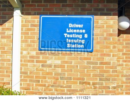 Drivers License Testing Station