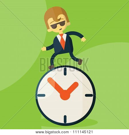 The time management