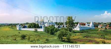 Panorama of Convent of the Intercession or Pokrovsky monastery i