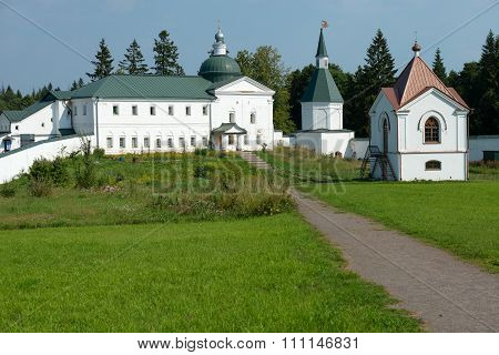 The Valdai Iver Svyatoozersky Virgin Monastery. Church Of The Holy Righteous James Borovichskye And