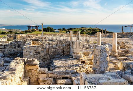 Kourion, An Ancient Greek City In Cyprus