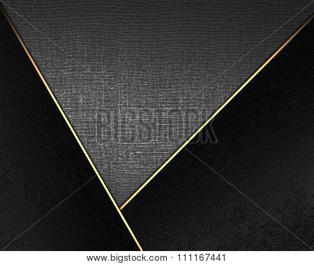 Texture Of Metal With Black Accents. Element For Design. Template For Design. Copy Space For Ad Broc
