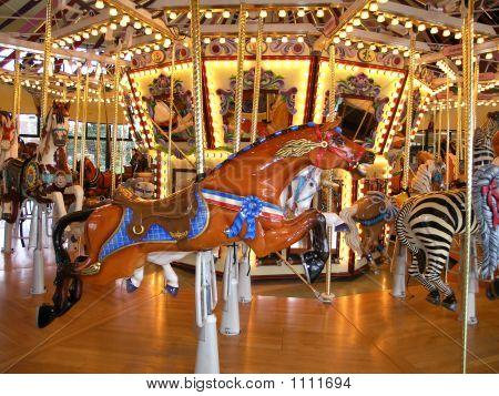 Bay Carousel Horse