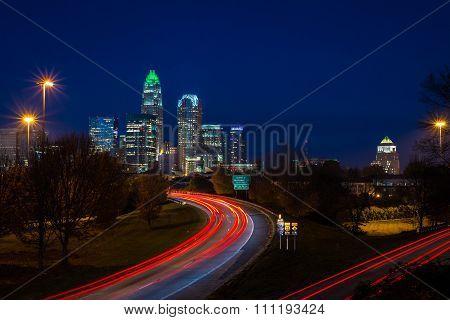 Evening Rush Hour Commute In Charlotte, North Carolina 3