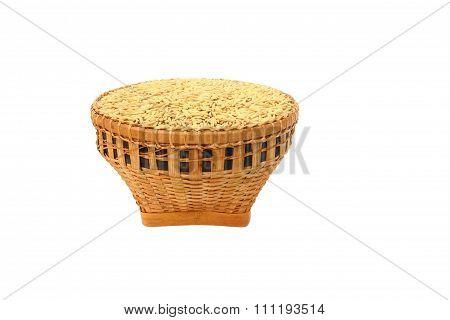 Rice in basket