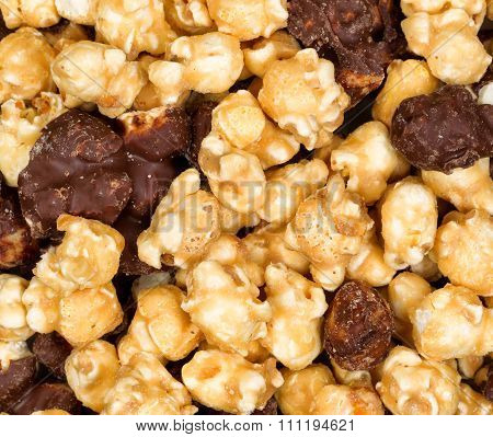 Fresh Gourmet Popcorn In Filled Frame Layout