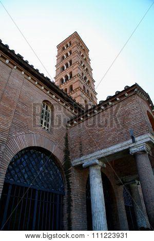 Bocca Della Verita, Church Of Santa Maria In Cosmedin In Rome, Italy