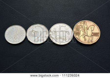 Czech money -   kronas (2000 year)