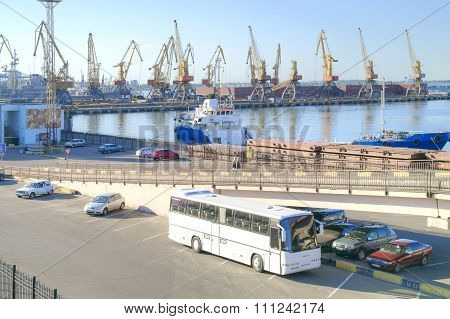 Coastwise Port. The City Of Odessa