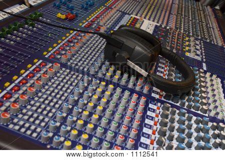 Mixing Desk & Headphones