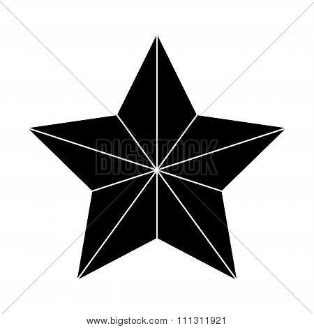 Gold Star Outline