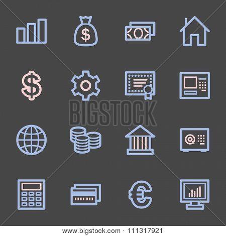 Money Web Icons