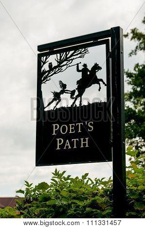 Robert Burns Birthplace Museum, Tam O' Shanter Sign.