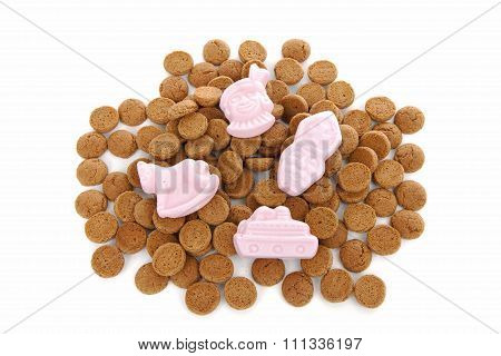 Typical Dutch Sweets: Pepernoten (ginger Nuts) For Sinterklaas