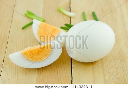 Boiled Egg Sliced