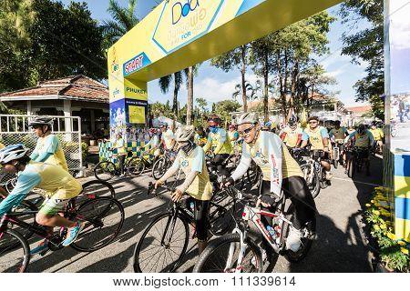 Phuket Thailand-dec 11 : Event In Thailand