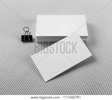 Several Business Cards