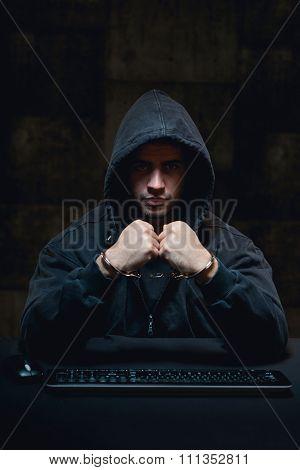 Man Fighting Aggainst Terrorism