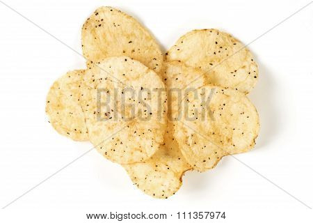 Sea Salt And Black Pepper Potato Chips