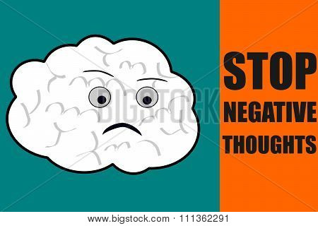 Stop negative thoughts suggestion