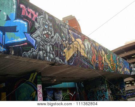 Street art in Bristol