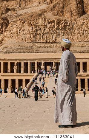 Mortuary Temple Of Queen  Hatshepsut.