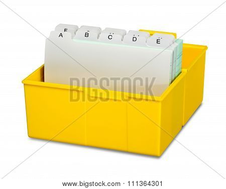 Address Storage Box
