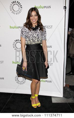 HOLLYWOOD, CALIFORNIA - Thursday March 8, 2012. Michaela Conlin at the PaleyFest 2012 Presents