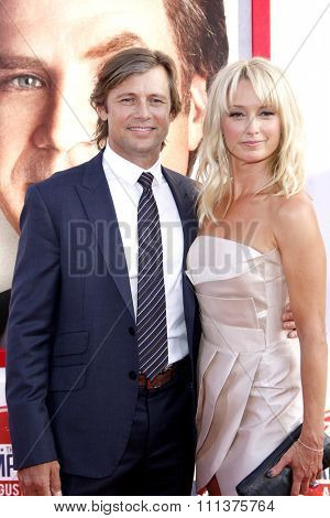 Grant Show and Katherine LaNasa at the Los Angeles premiere of