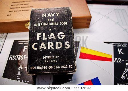 Navy Flag Cards