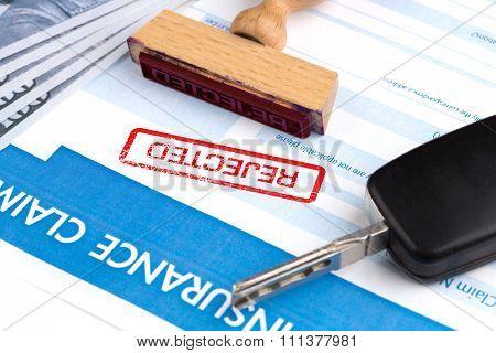 Auto Insurance Claim Form