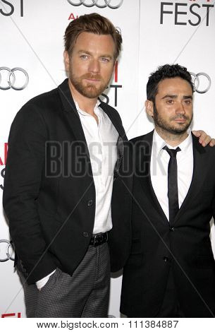 Ewan McGregor and J.A. Bayona at the 2012 AFI Fest Special screening of