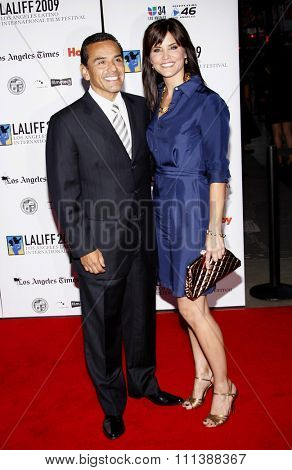 Antonio Villaraigosa at the Gabi Lifetime Achievement Award Gala held at the Grauman's Chinese Theater in Hollywood, California, United States on October 11, 2009.