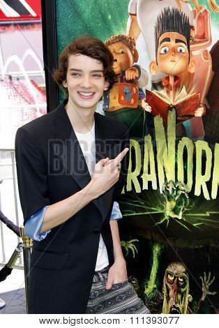Kodi Smit-McPhee at the Los Angeles premiere of