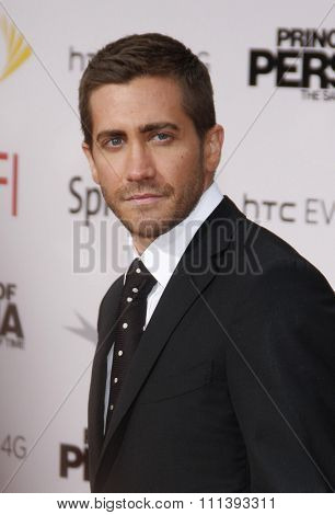 Jake Gyllenhaal at the Los Angeles Premiere of