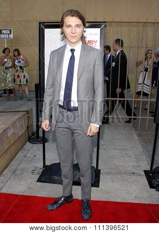 Paul Dano at the Los Angeles premiere of