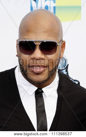 Flo Rida at the 2012 Do Something Awards held at the Barker Hangar in Los Angeles, United States on August 19, 2012.