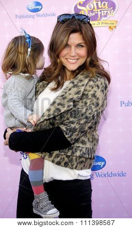 Tiffani Thiessen at the Los Angeles premiere of