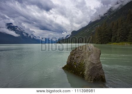 Chilkoot Lake In Elegant Tranquility